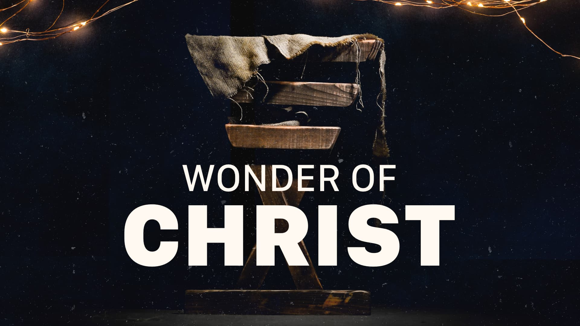 Wonder of Christ